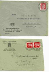 495: German Occupation II. Worldwar Alsace - Collections