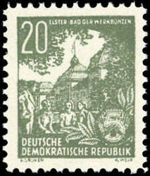 723: Propaganda Post after 1945 - Official stamps