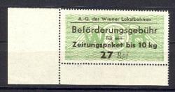 4745: Austria - Railway stamps