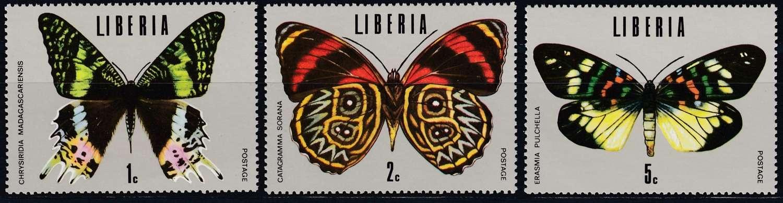Briefmarken Sommer Liberia Michel 930 935