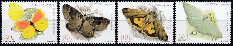 Briefmarken Sommer Madeira Michel 193 A 196 A