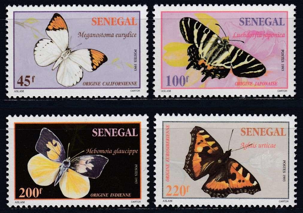 Briefmarken Sommer Senegal Michel 1398 1401