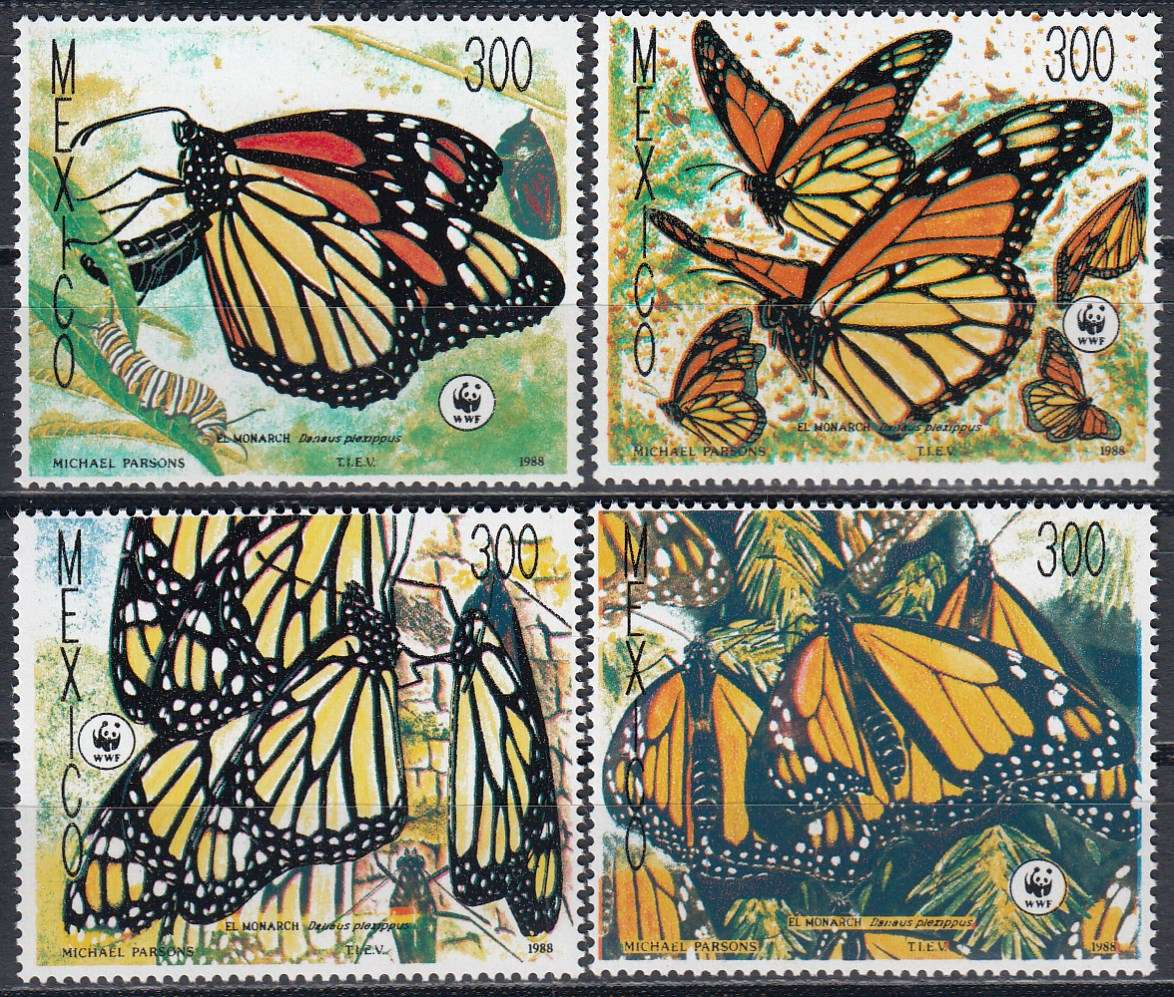 Briefmarken Sommer Mexico Michel 2095 2098