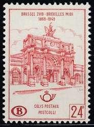 1810: Belgien - Paketmarken