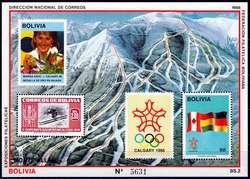 1905: Bolivien - Blöcke