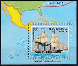 1870: Benin - Blöcke