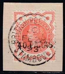 6355250: Türkei Britisch Besetzungs Postämter