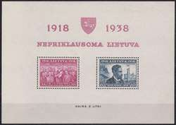 4185: Litauen - Blöcke