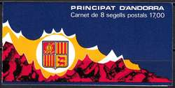 1670: Andorra Französische Post - Markenheftchen