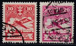 340: Danzig - Flugpostmarken