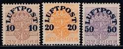 5625: Schweden - Flugpostmarken