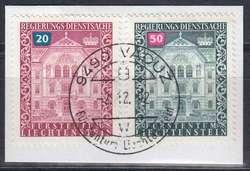4175: Liechtenstein - Dienstmarken