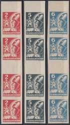 6335: Tschechoslowakei - Zusammendrucke