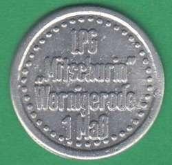 125.40: Notmünzen / Wertmarken - Landwirtschaft