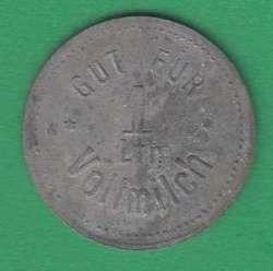 125.50: Notmünzen / Wertmarken - Milchmarken