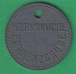 125.35: Notmünzen / Wertmarken - Speisemarken