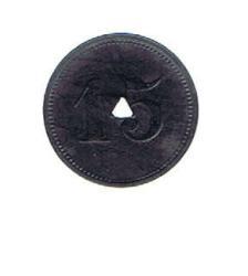125.80: Notmünzen / Wertmarken - Transport