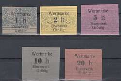110.370: Banknoten - Österreich / Römisch Deutsches Reich
