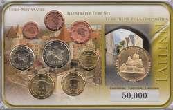 40.90.10: Europa - Estland - Euro Münzen