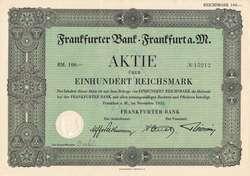 150.1000.30: Wertpapiere - Branchen - Bank/Finanzen