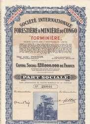 150.550.55: Wertpapiere - Afrika - Belgisch Kongo