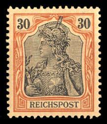 Deutsches Reich, Germania Reichspost