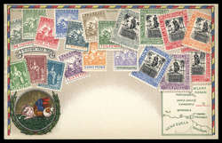 1790: Barbados - Postkarten