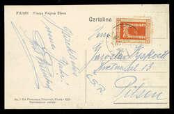 2555: Fiume - Postkarten