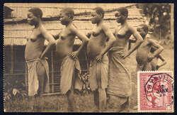 1850: Belgisch-Kongo - Postkarten
