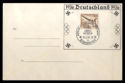 780520: Sport u. Spiel, Olympia Berlin 1936, Sonderstempel