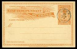 1850: Belgisch Kongo - Stempel