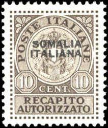 3580: Italienisch Somaliland - Besonderheiten
