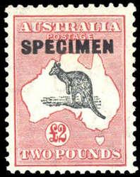 1750050: Australien - Känguruhs - CofA_Wasserzeichen