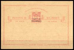 4465: 莫桑比克公司 - Postal stationery