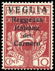 2560: Fiume Besetzung der Carnaro-Inseln
