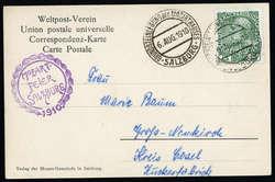 4780: Österreich Post auf Kreta - Stempel