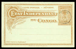 1850: Belgisch-Kongo - Stempel