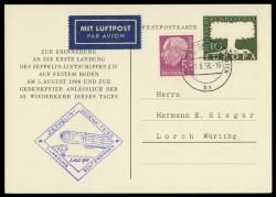 984520: Zeppelin, Zeppelin Sonderstempel, Sonderstempel nach 1939
