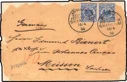 149: Deutsche Auslandspost China, Vorläufer - Besonderheiten
