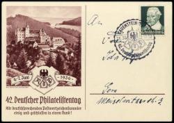 213010: Postgeschichte, Briefmarkenausstellungen, Deutschland bis 1945