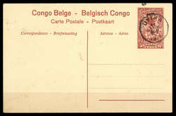 1850: Belgisch-Kongo - Ganzsachen