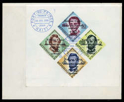 2955: Haiti - Dienstmarken