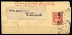 5600: Sansibar - Ganzsachen