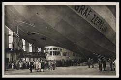 985045: Zeppelin, Zeppelin Postkarten, LZ 127