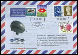 984035: Zeppelin, Zeppelinpost NT, LZ07 D-LZFN