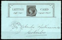 6010: Sri Lanka - Ganzsachen