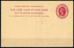 3855: Kap der Guten Hoffnung - Ganzsachen