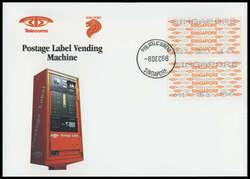 5755: Singapur - Automatenmarken