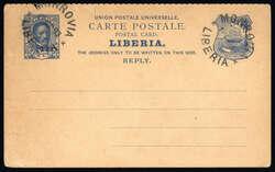 4165: Liberia - Ganzsachen