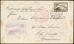 982524: Zeppelin, Zeppelinpost LZ 127, Südamerikafahrten 1931